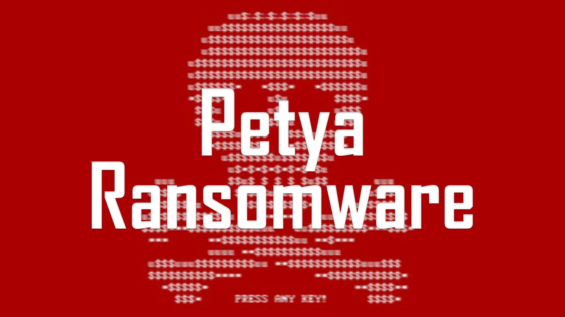 Đây không phải là biến thể của Ransomware Petya như đã đưa tin.